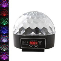 Mr. Dj PARTYDOME Patron Pro Audio 20 Watt LED Crystal Magic Ball Stage Lighting - PARTYDOME - IN STOCK