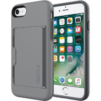 Incipio IPH1477GYC STOWAWAY Case for Apple� iPhone� 7 - Gray - IPH1477GYC - IN STOCK