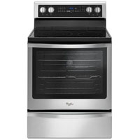 Whirlpool WFE745H0FS 6.4 Cu. Ft. Stainless Freestanding Convection Range - WFE745H0FS - IN STOCK
