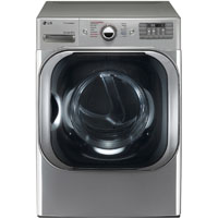 LG DLEX8100V 9.0 Cu. Ft. Stainless Electric Dryer - DLEX8100V - IN STOCK