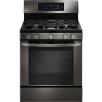 LG LRG3061BD 5.4 cu. ft. Black Stainless Freestanding Gas Range - LRG3061BD - IN STOCK