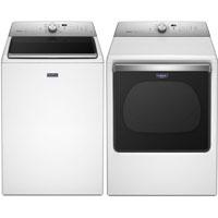 Maytag MVWB835PR White Top Load Washer/Dryer Pair - MVWB835PR - IN STOCK