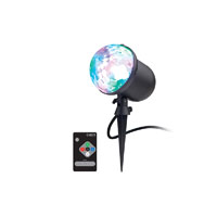 Ion HOLIDAYPARTY Multi-Color Outdoor Projected Light - HOLIDAYPARTY - IN STOCK