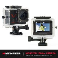 Monster CAMVP1080A 1080p+ Action Sports Camera - CAMVP1080A - IN STOCK