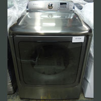 Samsung Electric 9.5 Cu. Ft. Platinum High Efficiency Top Load Steam Dryer - DV56H9000EP-OBX1154 - IN STOCK