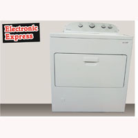 Whirlpool 7.0 Cu. Ft. White High Efficiency Top Load Dryer - WGD5000DW-OBX1159 - IN STOCK