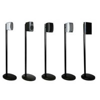 Polk Audio Speaker Stands - Titanium (Sold in Pairs) - SA2TI - IN STOCK