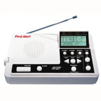 Sima 1st Alert Emergency Radio and Atomic Clock - WX268 - IN STOCK
