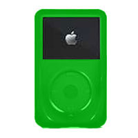 iSKIN Lime Green 5th Generation iPod Video 60GB Skin - EVO3ET1A / EVO3AT1 - IN STOCK