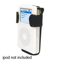 Scosche Black Leather iPod Holster - IPH - IN STOCK