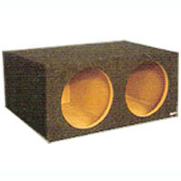 Atrend Dual 10 in. Sealed Subwoofer Box - 10DQL - IN STOCK