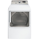 G.E. GTDS820EDWS Electric 7.8 Cu. Ft. White High Efficiency Top Load Steam Dryer - GTDS820EDWS - IN STOCK