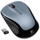 Logitech M325 Wireless Mouse Light Silver - 910002332 - IN STOCK