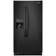 Whirlpool WRS325FDAB 25.4 Cu. Ft. Black Side-by-Side Refrigerator - WRS325FDAB - IN STOCK