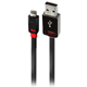Monster 2.3 Meter Lightning to USB Cable - 133203 / ICUSB23M8DK - IN STOCK