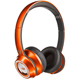 Monster NCredible NTune On-Ear Headphones - Tangerine - 128507 / MHNTUONCTAN - IN STOCK