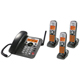 Uniden DECT 6.0 Corded/Cordless Digital Answering System with Dual Keypad and Cordless Handset and Chargers - DECT1588 - IN STOCK