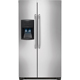 Frigidaire FFHS2322MS 22.6 Cu. Ft. 33 in. Width Stainless Side-by-Side Refrigerator - FFHS2322MS - IN STOCK
