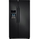 Frigidaire FFHS2322MB 22.6 Cu. Ft. 33 in. Width Black Side-by-Side Refrigerator - FFHS2322MB - IN STOCK