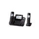 Panasonic Dect-6.0 2 Line Bluetooth Cellular Convergence Solution Telephone with 2 Handsets - KX-TG9542B / KXTG9542 - IN STOCK