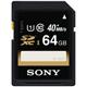 Sony 64GB Class 10 SDXC Memory Card - SF64UY/TQMN / SF64UYTQMN - IN STOCK