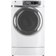 G.E. GFDR480EFWW Electric 8.3 Cu. Ft. White Front Load Steam Dryer - GFDR480EFWW - IN STOCK