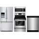 Frigidaire 4 Pc. Stainless French Door Kitchen Package - FRIGFDKIT - IN STOCK