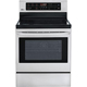 LG LRE3083ST 6.3 Cu. Ft. Stainless 5 Burner Freestanding Range  - LRE3083ST - IN STOCK