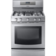 Samsung NX58F5700WS 5.8 Cu. Ft. Stainless 5 Burner Freestanding Gas Range - NX58F5700WS/AA / NX58F5700WS - IN STOCK