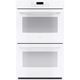G.E. JT5500DFWW 30 in. White Convection Double Wall Oven - JT5500DFWW - IN STOCK