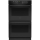 G.E. Profile PT7550DFBB  30 in. Black Convection Double Wall Oven - PT7550DFBB - IN STOCK