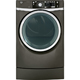 G.E. GFDR485EFMC Electric 8.3 Cu. Ft. Metallic Carbon Front Load Steam Dryer - GFDR485EFMC - IN STOCK