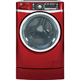 G.E. GFWR4805FRR 4.8 Cu. Ft. Red Front Load Steam Washer - GFWR4805FRR - IN STOCK