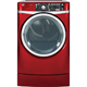 G.E. GFDR485EFRR Electric 8.3 Cu. Ft. Red Front Load Steam Dryer - GFDR485EFRR - IN STOCK