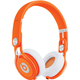 Beats By Dr. Dre MIXR Neon Orange On-Ear Head Phones - 900-00097-01 / MIXRORG - IN STOCK