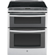 G.E. Profile PS950SFSS 6.6 Cu. Ft. Stainless 5 Burner Double Oven Slide-In Range - PS950SFSS - IN STOCK
