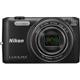 Nikon COOLPIX S6800 16MP 12x Zoom Black Wi-Fi Digital Camera - S6800BK - IN STOCK