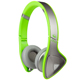Monster DNA On-Ear Headphones - Silver on Neon Green - MHDNAONSLVGR - IN STOCK