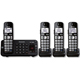 Panasonic DECT 6.0 Plus Digital Cordless Answering System w/ 4 Handsets - KX-TGE244B / KXTGE244 - IN STOCK