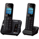 Panasonic DECT 6.0 Plus Link2Cell Bluetooth Answering System w/ 2 Handsets - KX-TGH262B / KXTGH262 - IN STOCK