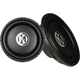 Memphis Audio 10 in. 500 Watts Signle 4 Ohm Coil SA Series Car Subwoofer - 15SA10D4 - IN STOCK