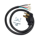 G.E. Universal Electric Dryer Power Cord - 4 Prong - TJ1005 / 4PRONGDRY - IN STOCK