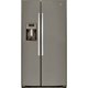 G.E. GSE26HMEES 25.9 Cu. Ft. Slate Side-by-Side Refrigerator - GSE26HMEES - IN STOCK