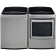 LG Graphite High Efficiency Washer/Dryer Pair - WT1701VPR - IN STOCK