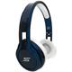 SMS Audio STREET by 50 Cent On Ear Headphones - Blue - SMS-ONWD-BLU / SMSONWDBLU - IN STOCK