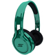 SMS Audio STREET by 50 Cent On Ear Headphones - Green - SMS-ONWD-GRN / SMSONWDGRN - IN STOCK