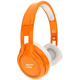 SMS Audio STREET by 50 Cent On Ear Headphones - Orange - SMS-ONWD-ORG / SMSONWDORG - IN STOCK