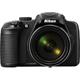 Nikon COOLPIX P600 16MP 60x Zoom Black Digital Camera - P600BK / P600BK - IN STOCK