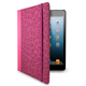 Lifeworks Fur Coat Universal Fashion Folio Case for 7/8 in. Tablets - Pink - LW-T2020P / LWT2020P - IN STOCK