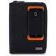 Lifeworks The Blazer Universal Zipper Folio Case for 7/8 in. Tablets (Black/Orange) - LW-T2000BJ / LWT2000BJ - IN STOCK